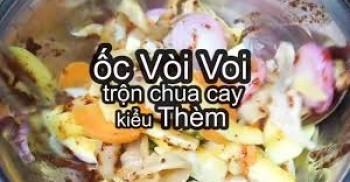 Ốc Vòi Voi Trộn Chua Cay