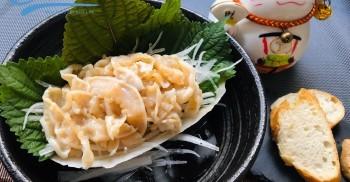 Ốc vòi voi 2 món sashimi & áp chảo rosemary